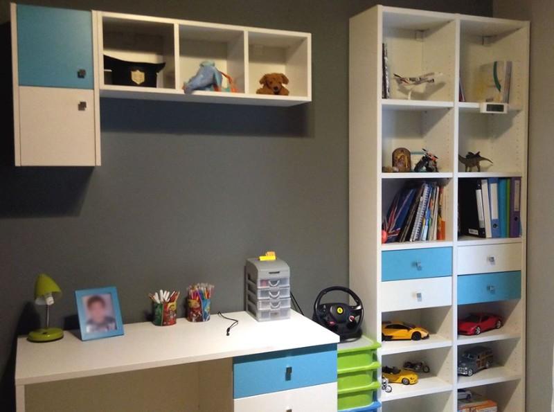 παιδικό γραφείο βιβλιοθήκη αγόρι