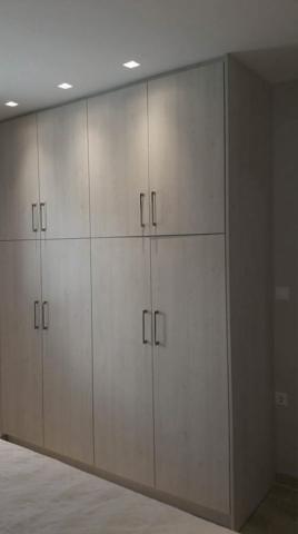 τετράφυλλη ανοιγόμενη ντουλάπα μελαμίνης