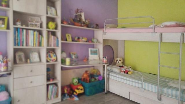 παιδικό κρεβάτι κουκέτα με προστετευτικό