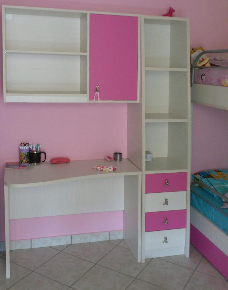 παιδικό γραφείο σέτ με ραφιέρα συρταριέρα