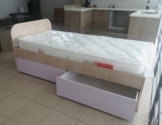 παιδικό κρεβάτι με κρυφά συρτάρια