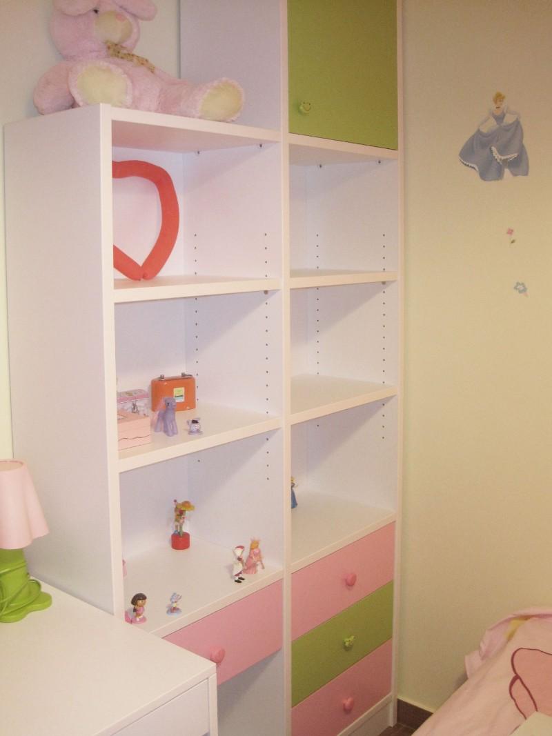 βιβλιοθήκη παιδική και συρτάριερα