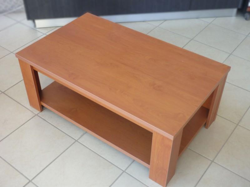τραπέζι σαλονιού μελαμίνης στο χρώμα του ξύλου
