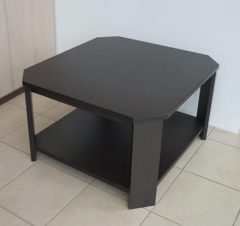 τραπέζι σαλονιού μαύρο μελαμίνης