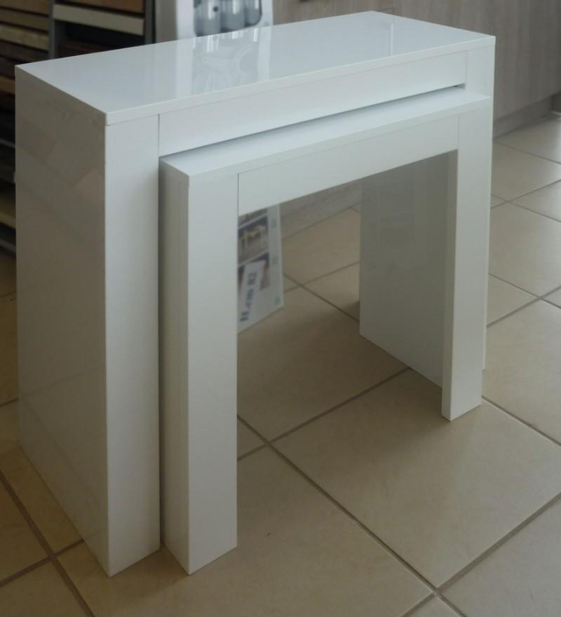τραπέζι σαλονιού αποσπώμενο λευκό