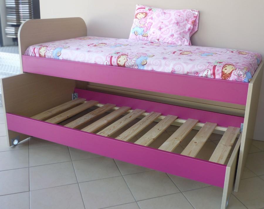 αναδιπλούμενο παιδικό κρεβάτι φούξια