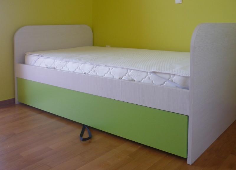 παιδικό κρεβάτι με αποθηκευτικό χώρο κρυφό συρτάρι