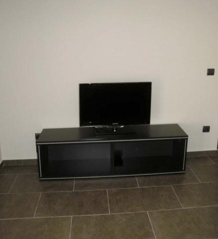 ορθογώνιο έπιπλο για τηλεόραση μαύρο