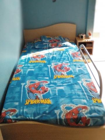 παιδικό κρεβάτι μελαμίνης