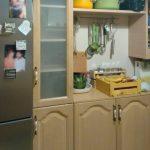 έπιπλο κουζίνας με πορτάκια μελαμίνης